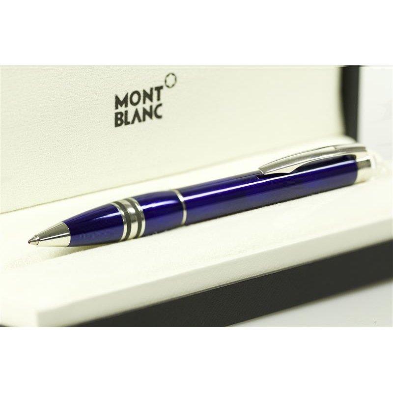 montblanc starwalker cool blue line kugelschreiber neuware. Black Bedroom Furniture Sets. Home Design Ideas