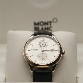 Montblanc Heritage Chronometrie Dual Time Automatikuhr...