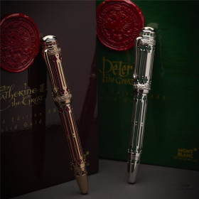 Montblanc Patron of Art 888 Peter Catherine the Great...
