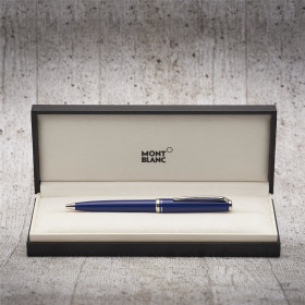 Montblanc Cruise Collection Platinum Line Resin Blue...