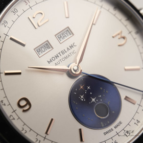 Montblanc Heritage Chronometrie Stainless Steel Limited...