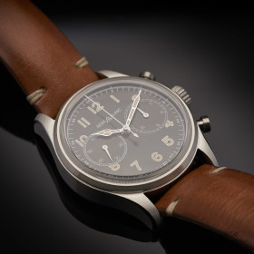 Montblanc 1858 Automatic Chronograph Stainless Steel...