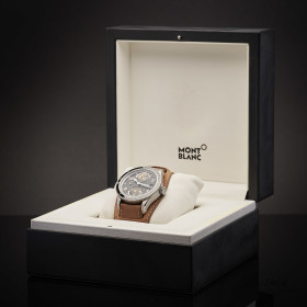 Montblanc 1858 Geosphere Automatic Limited Edition  Brown...