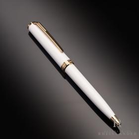Montblanc Meisterstück Pix Collection White AU Gold...