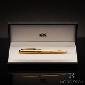 Montblanc Solitaire Gold Plated Classique Kugelschreiber...