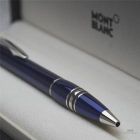 Montblanc Starwalker Cool Blue Line Guilloche Metal...